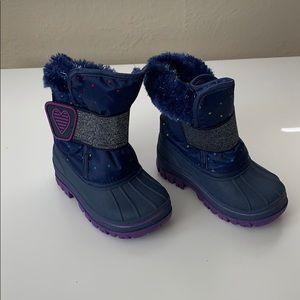 Cat & Jack girls winter boots.